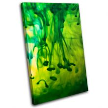 Ink Emerald Green Abstract - 13-0004(00B)-SG32-PO
